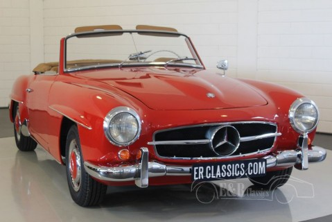 Mercedes Benz 190SL Cabriolet 1957 for sale