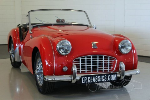 Triumph TR3 Cabriolet 1957 for sale