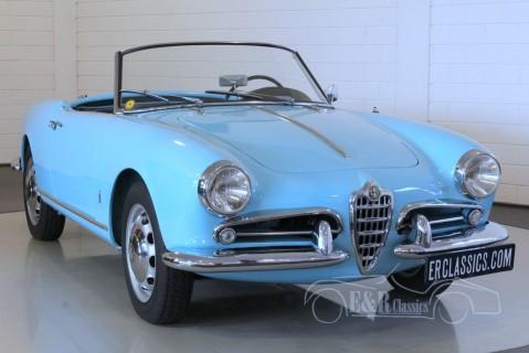 Alfa Romeo Giulietta Spider 1957 for sale