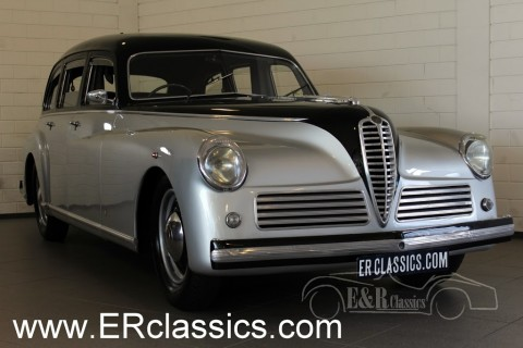 Alfa Romeo 6C Saloon 1949 for sale