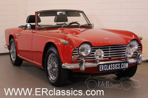Triumph TR4 A Cabriolet 1965 for sale