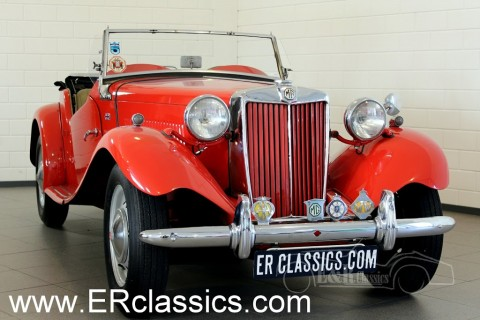MG TD Cabriolet 1951 for sale