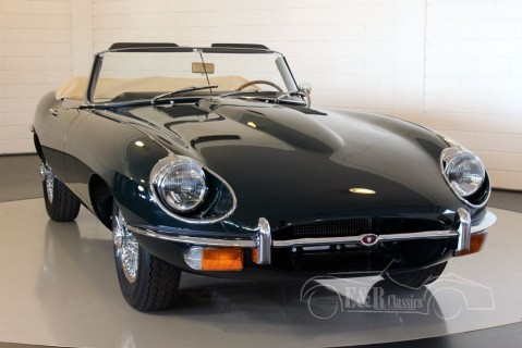 Jaguar E-Type cabriolet 1970, restored, as new for sale