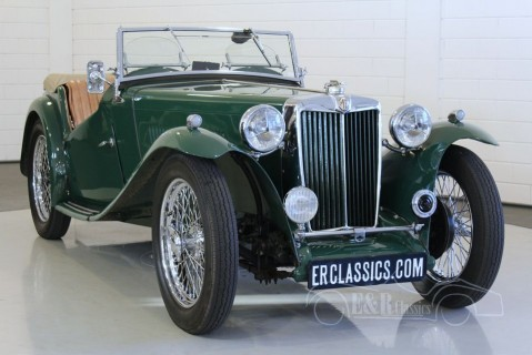 MG TC Roadster 1949  for sale