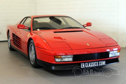 Ferrari Testarossa Coupe 1991 for sale