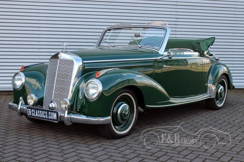 Mercedes Benz 220 A Cabriolet 1952 for sale