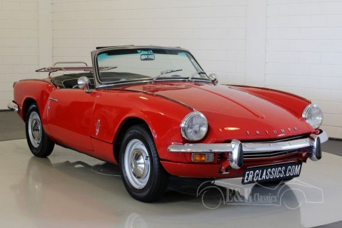 Triumph Spitfire MKIII Cabriolet 1968 for sale