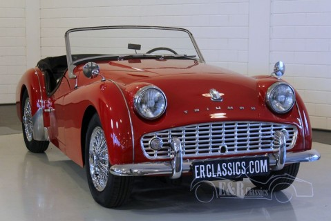 Triumph TR3A Roadster 1960 for sale