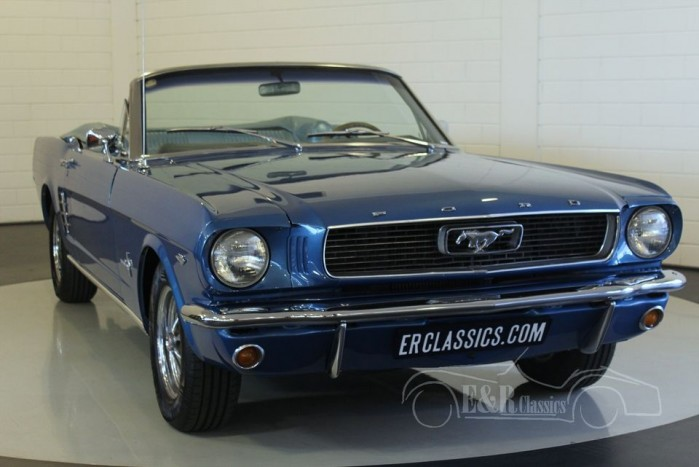 ford mustang 1966 for sale at erclassics. Black Bedroom Furniture Sets. Home Design Ideas