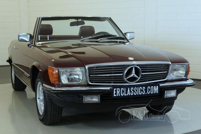 Mercedes Benz 380SL Cabriolet 1985 for sale