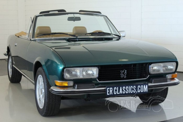 peugeot 504 cabriolet 1976 for sale at erclassics. Black Bedroom Furniture Sets. Home Design Ideas