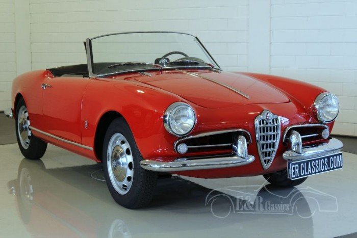 Alfa-Romeo Giulietta Spider 750D  for sale