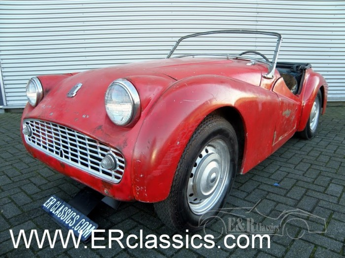 Triumph TR3 1958 for sale