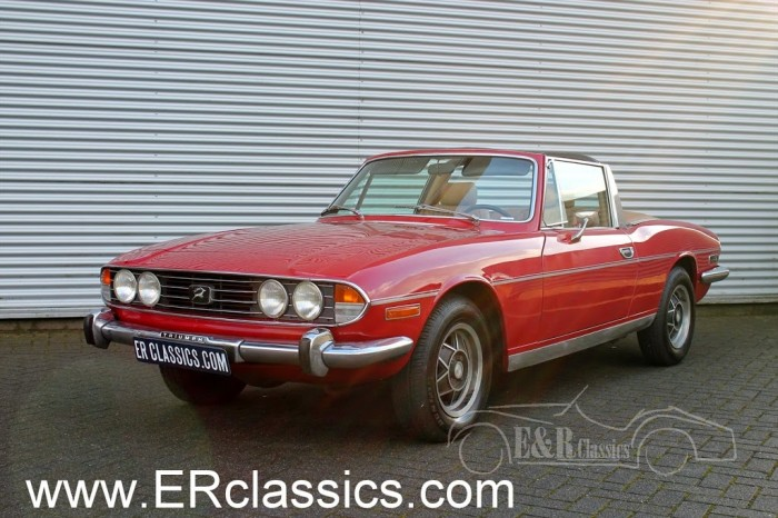 Triumph 1976 for sale