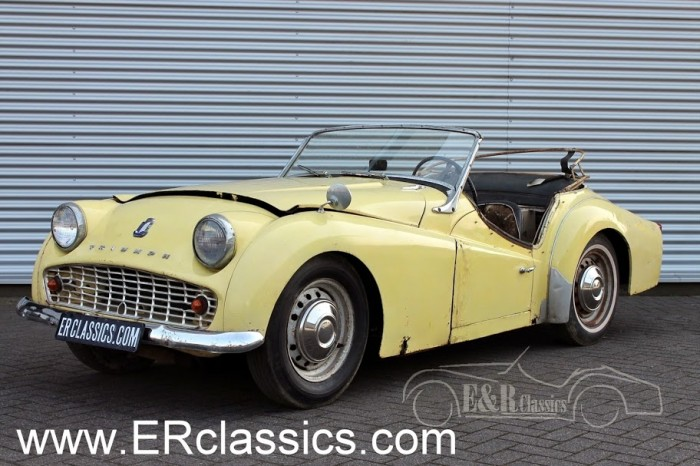 Triumph TR3 1961 for sale