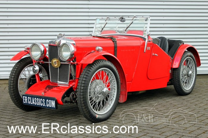 MG J2 1933 for sale