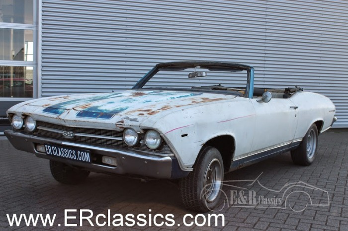 Chevrolet Chevelle Cabriolet 1969 for sale