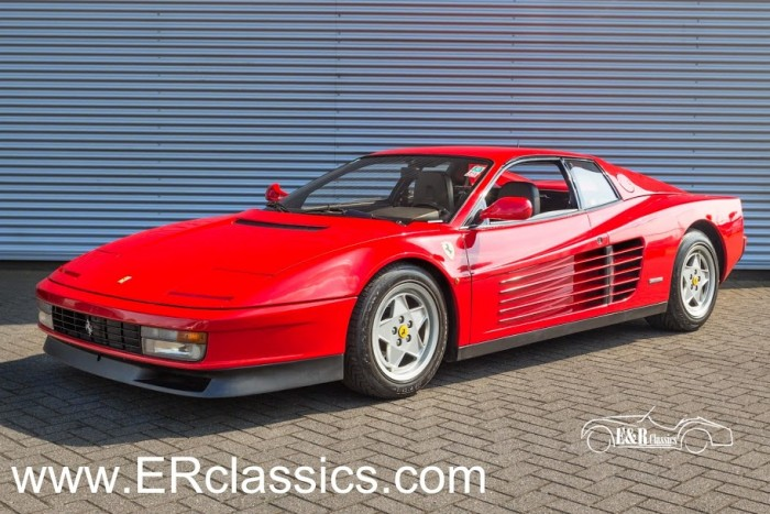 Ferrari Testarossa Coupe 1988 for sale