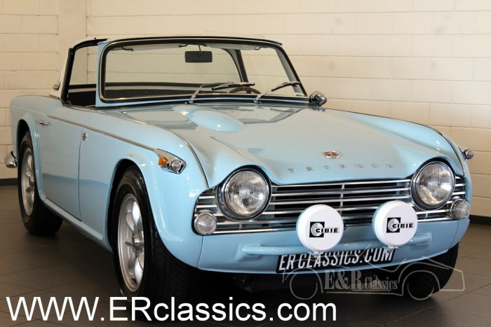 Triumph TR4 IRS Cabriolet 1965 for sale