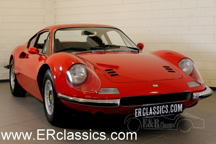 Ferrari 246 GT Dino Coupe 1973 for sale