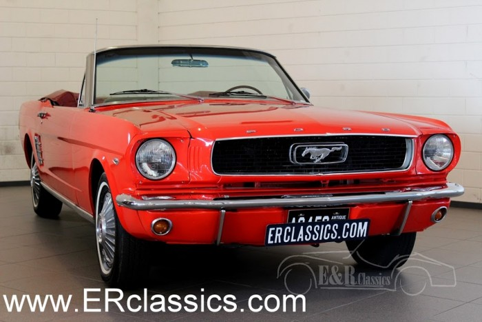 Ford Mustang Cabriolet 1966 for sale
