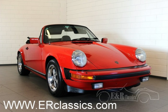 Porsche 911 SC Cabriolet 1983 for sale