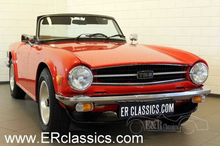 Triumph TR6 Cabriolet 1975 for sale