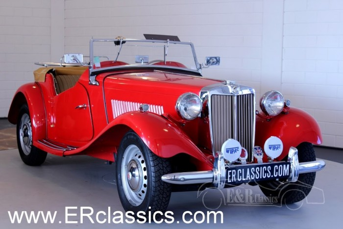 MG TD Cabriolet 1952 for sale