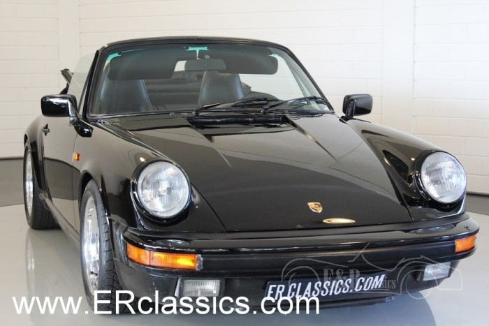 Porsche 911 Cabriolet 1986 for sale