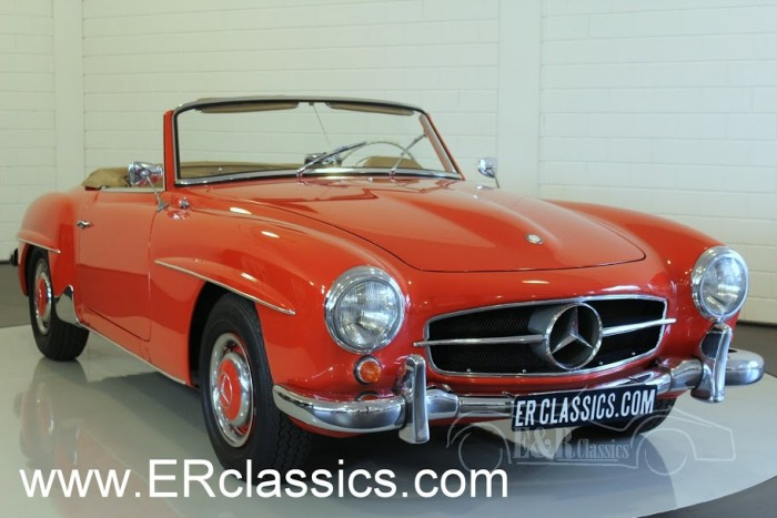 Mercedes Benz 190SL Cabriolet 1962 for sale