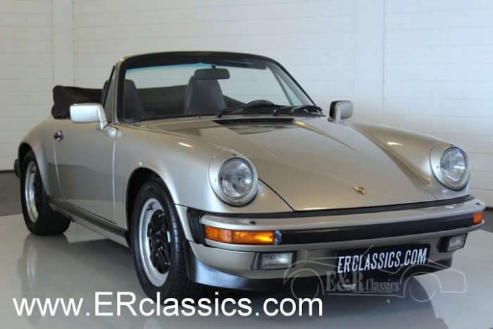 Porsche 911 Carrera Cabriolet 1986 for sale