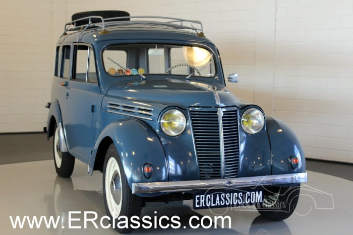 Renault Juvaquatre Dauphinoise 1956 for sale