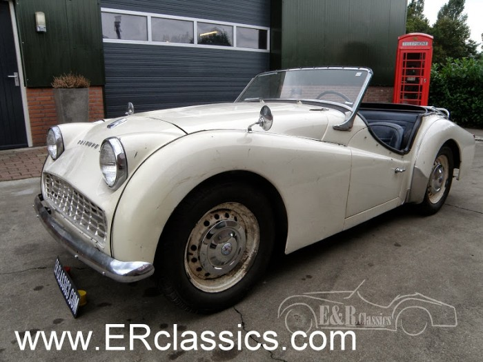Triumph 1958 for sale