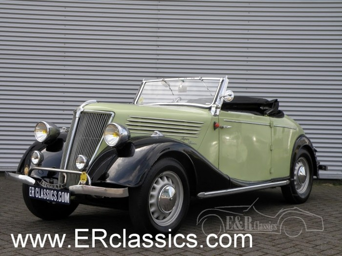 Renault Primaquatre Spider 1937 for sale