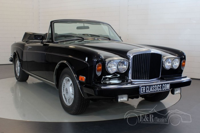 Bentley Continental 1986  for sale