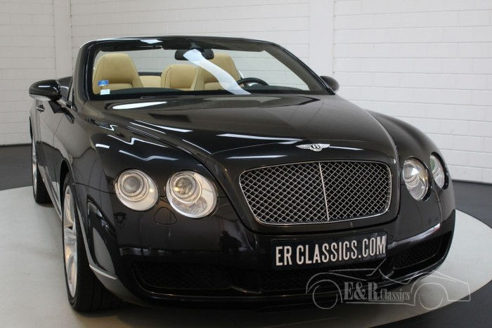 Bentley Continental GTC 6.0 W12 2007 for sale