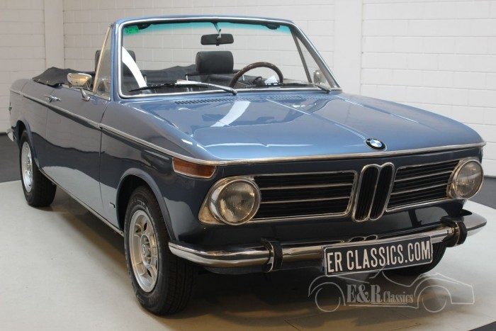BMW 1600 Baur convertible 1970 for sale