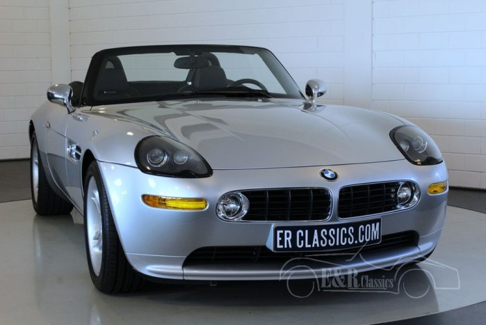 BMW Z8 cabriolet 2003 Titanium Silver for sale
