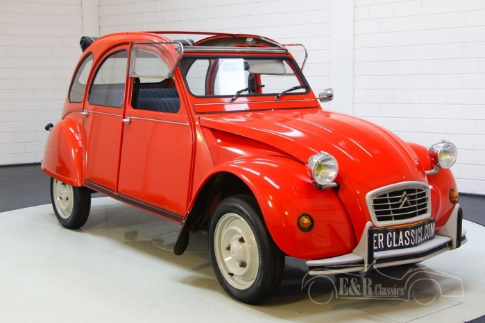 Citroën 2CV Club til salg