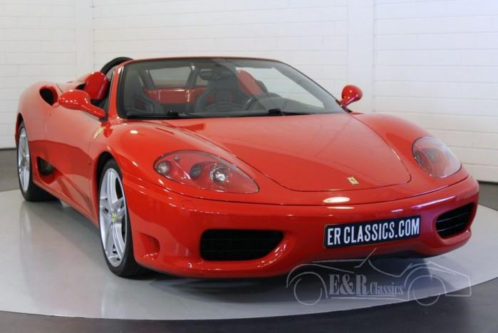Ferrari 360 Spider F1 2002 for sale