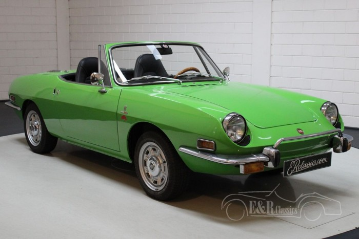 Fiat 850 Spider Sport 1972 for sale