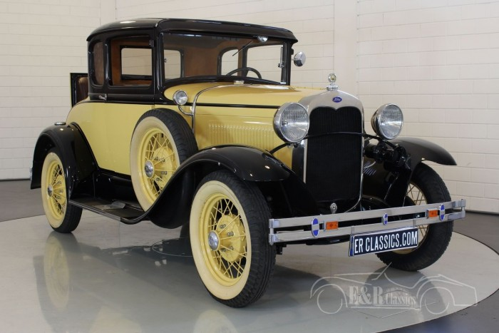 Ford Model A Deluxe coupe 1930  for sale