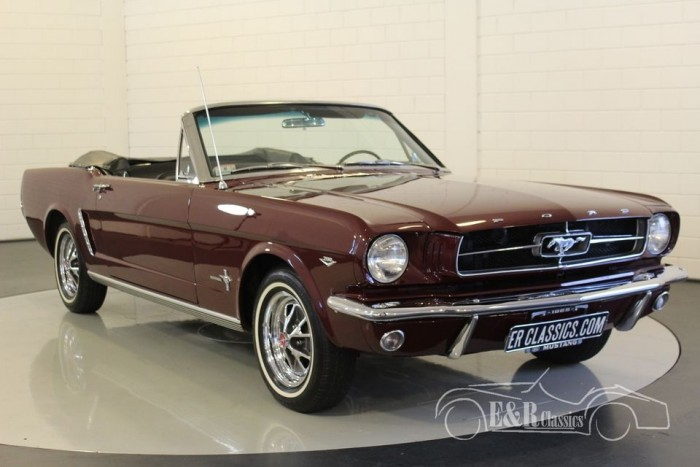 Ford Mustang Convertible 1964 V8 For Sale At Erclassics