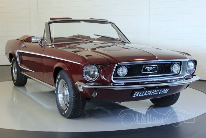 Ford Mustang Gt Cabriolet 1968 For Sale At Erclassics