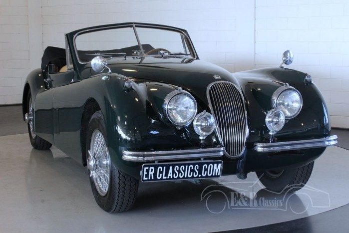 Jaguar XK 120 DHC 1952  for sale