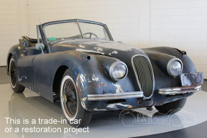 Jaguar XK120 DHC 1954  for sale