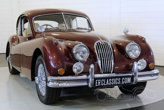 Jaguar XK140 FHC 1956 for sale