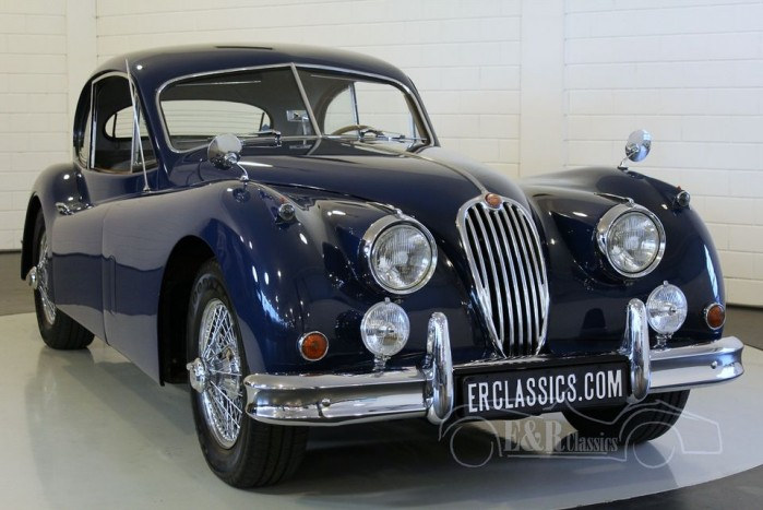 Jaguar XK140 FHC, LHD 1956 for sale