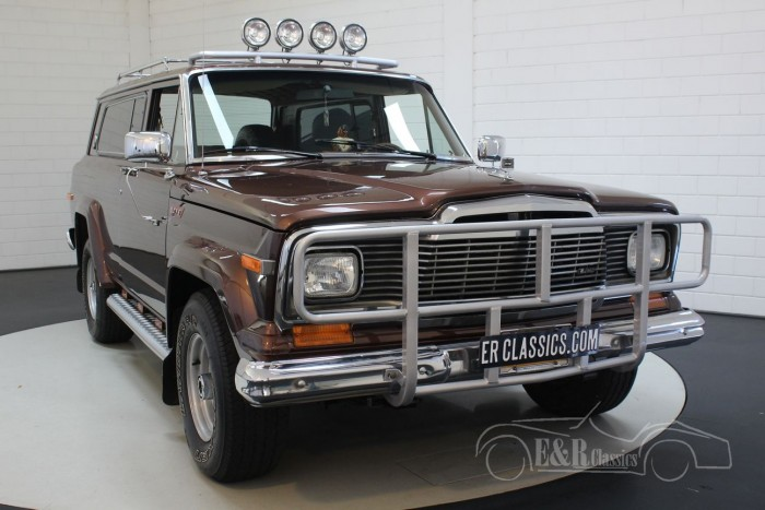 Jeep Cherokee Chief >> Jeep Cherokee Chief 5 9l V8 1980 For Sale At Erclassics