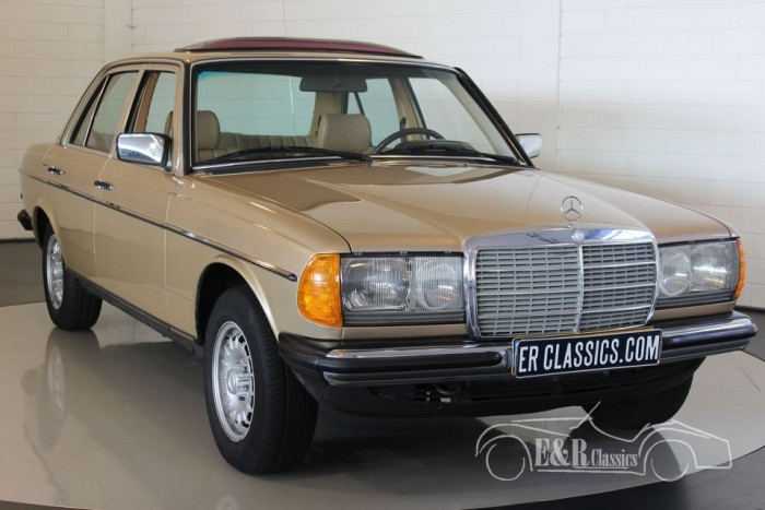 Mercedes-Benz 230E 1984  for sale
